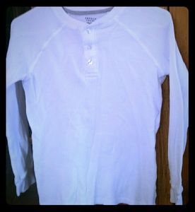 French toast white thermal shirts